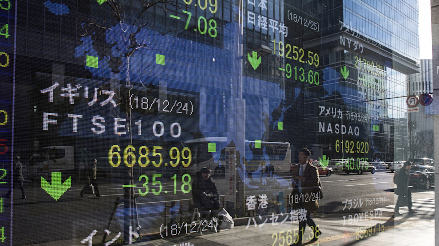 Global shares fall after US stocks retreat from highs
