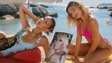 Hailey Bieber and Bella Hadid sizzle in new Versace campaign