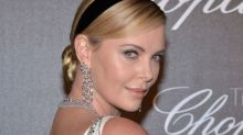 Charlize Theron Dazzles as 'Godmother' of Cannes