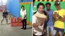 'Thank you Master!': Tendulkar's brilliant impromptu gesture