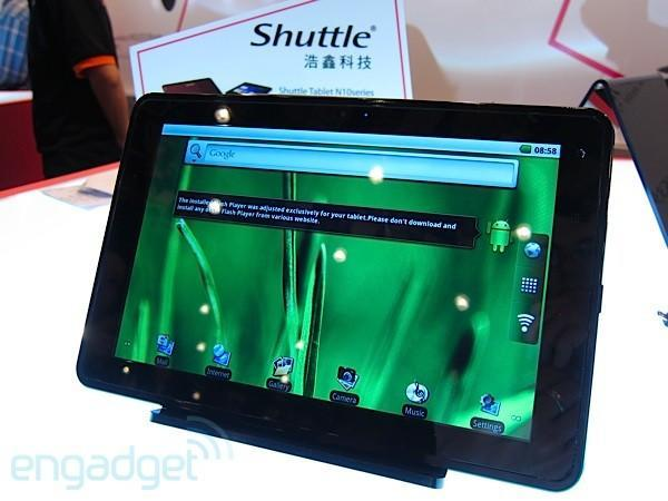 Shuttle tablets at Computex 2011 (hands-on)