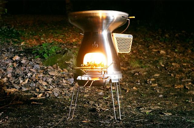 Going 'off the grid' with BioLite's BaseCamp stove