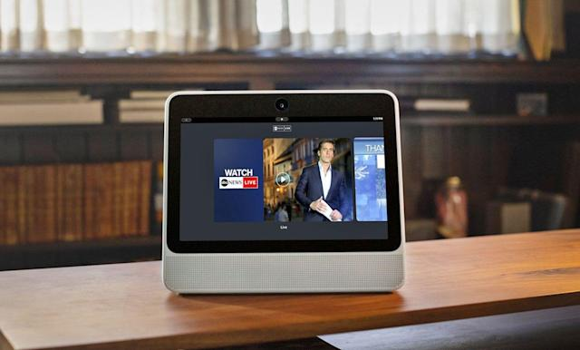 Facebook's Portal video hub gains major news channels and recipes