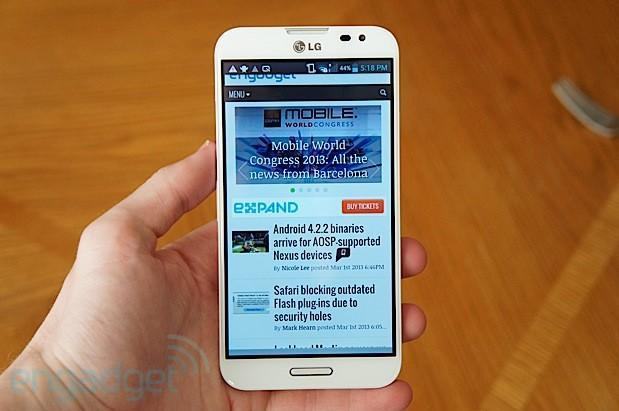 Unknown LG Optimus with 1080p display and Snapdragon 800 spotted on Sprint's website