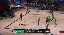 Daniel Theis with an alley oop vs the Miami Heat