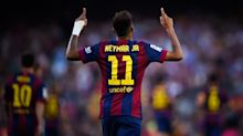 Neymar signs with Paris Saint-Germain from Barcelona, shattering transfer world record