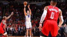 Nemanja Bjelica stuns Rockets with deep buzzer-beater after Russell Westbrook calls 'game over'