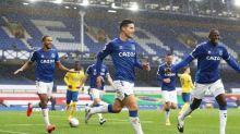 Foot - ANG - Premier League:Everton enchaîne face à Brighton, James Rodriguez en grande forme
