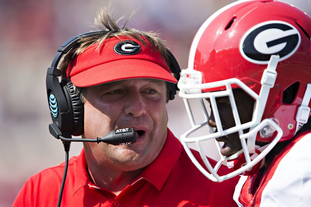 Georgia is 4-3 in 2016. The Bulldogs were 10-3 in each of the past two seasons. (Getty)