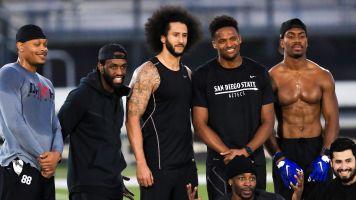 Kap's receiver during workout gets NFL shot