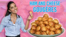 How To Make Ham & Cheese Gougeres With Tara