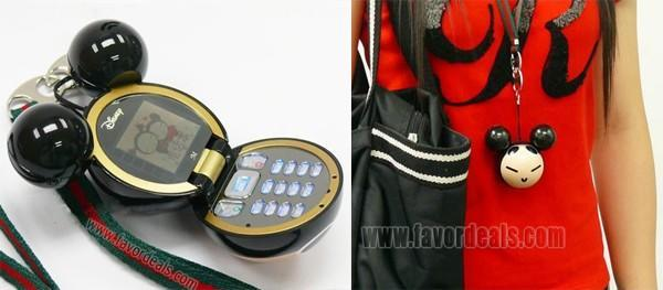 Bizarre knockoff Mickey Mouse phone doubles as a racquetball