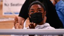 Gymnast Biles still struggling with 'petrifying' mental block