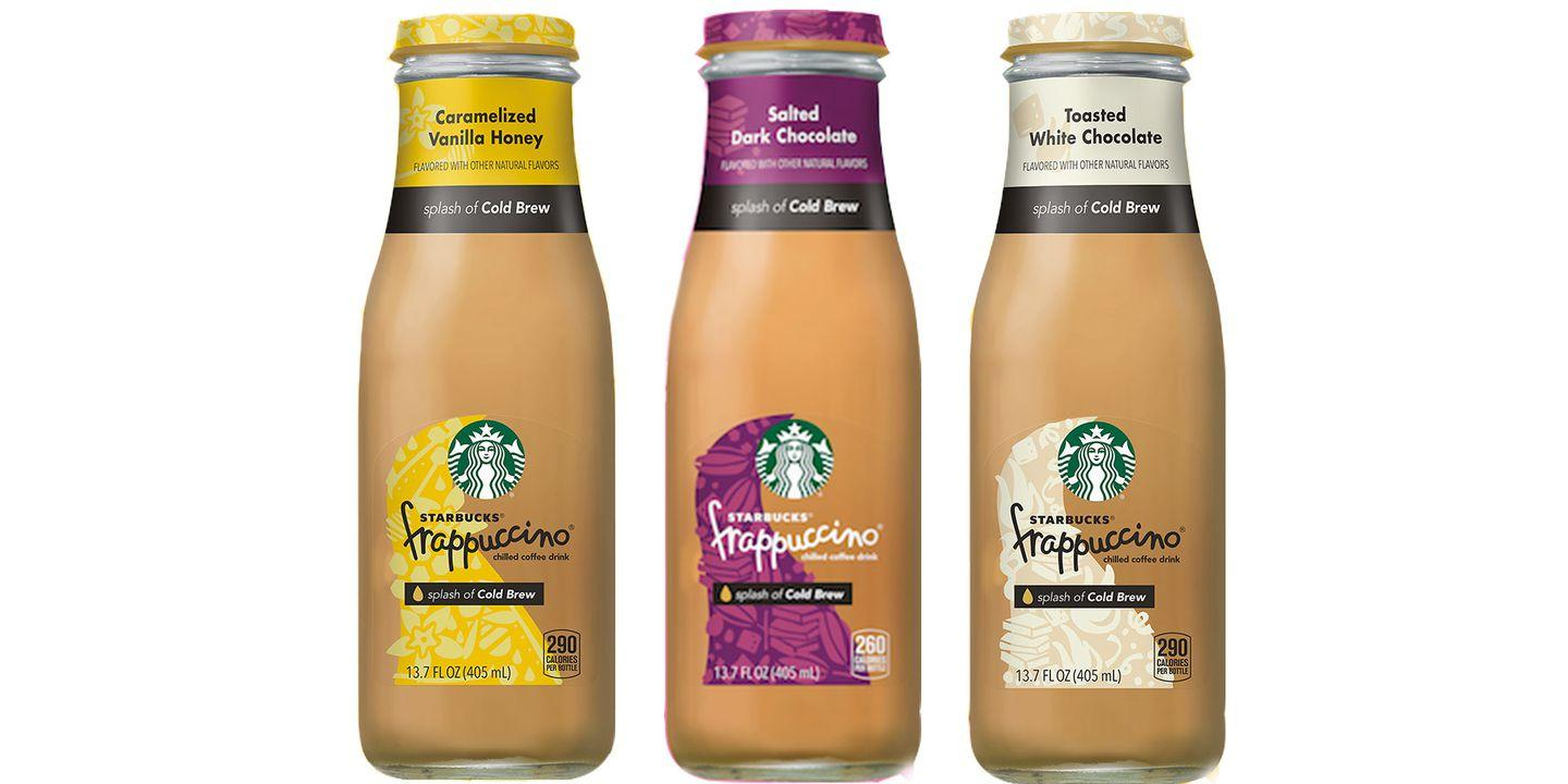 Starbucks Is Selling Three New Bottled Frappuccinos At ...
