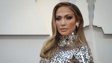 Jennifer Lopez: Sirena futurista en los Oscar 2019