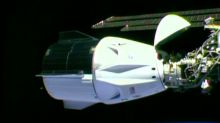 'Dragon arriving': For first time, astronauts reach the space station in SpaceX capsule
