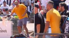 Nick Kyrgios disqualified from Italian Open after insane meltdown
