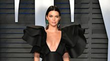 Kendall Jenner might have just worn the shortest mini dress ever