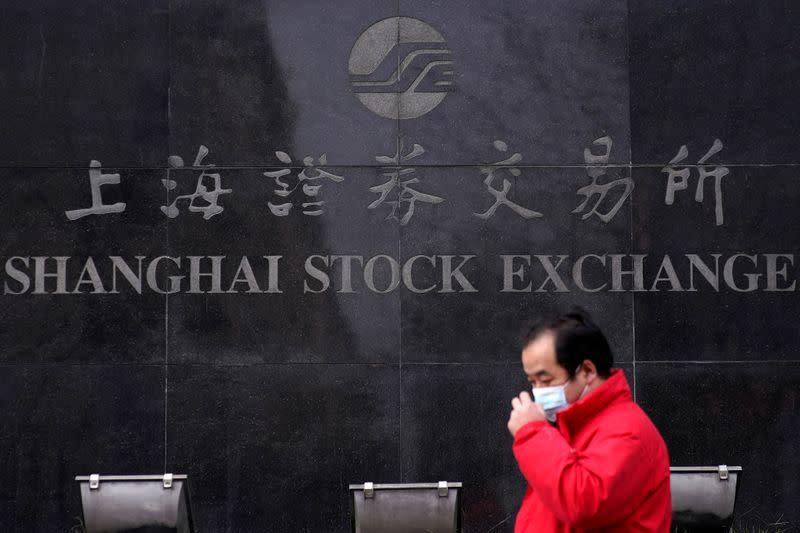 China, Hong Kong shares tumble on regulatory clampdowns