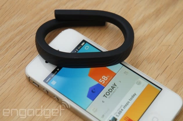 Jawbone Up coming to Android Wear, Apple HealthKit and Windows Phone (update: Pebble too)