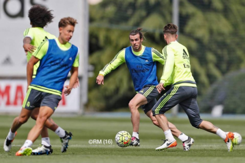 Bale e Carvajal voltam a treinar e podem ser 'reforços' na Champions
