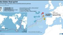 Dalin first to finish Vendee Globe as title rival Herrmann collides with trawler