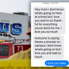 Saugus High School shooting: Read student's heartbreaking text to mother amid chaos