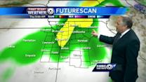 Soggy Thursday, wintry weather returns Friday