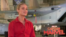 Brie Larson on the 'Captain Marvel' smiling controversy — and why it's so demeaning to women
