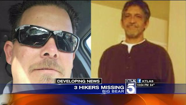 Search Underway in Big Bear for Missing Hikers
