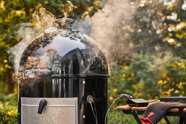 Weber's grilling hub equips any grill with WiFi smarts