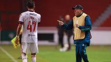 Isla elogia atuação do Del Valle, mas afirma: 'Tem muita Libertadores pela frente, o torneio não termina aqui'