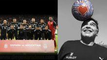 Indignados... Los famosos se expresaron luego de la derrota de Argentina frente a España
