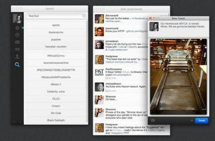 Twitter updates its OS X client