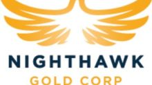 Nighthawk Announces $9.0 Million Bought Deal Private Placement