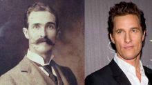 Filmstars mit historischen Doppelgängern