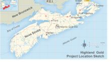 Transition Resumes Drilling at Highland Gold Property in Nova Scotia