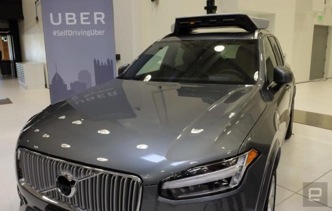 Uber bestellt 24.000 Volvo-SUVs für seine Drohnenflotte
