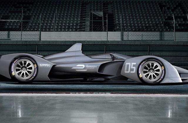 Formula E's next-generation cars get their first concept shots