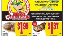 'Heaven has a wall, a gate and a strict immigration policy': Grocery store riles up shoppers with ad