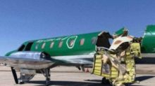 Planes collide mid-air in Colorado almost ripping one in half