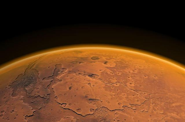 Scientists find signs of liquid water on the surface of Mars