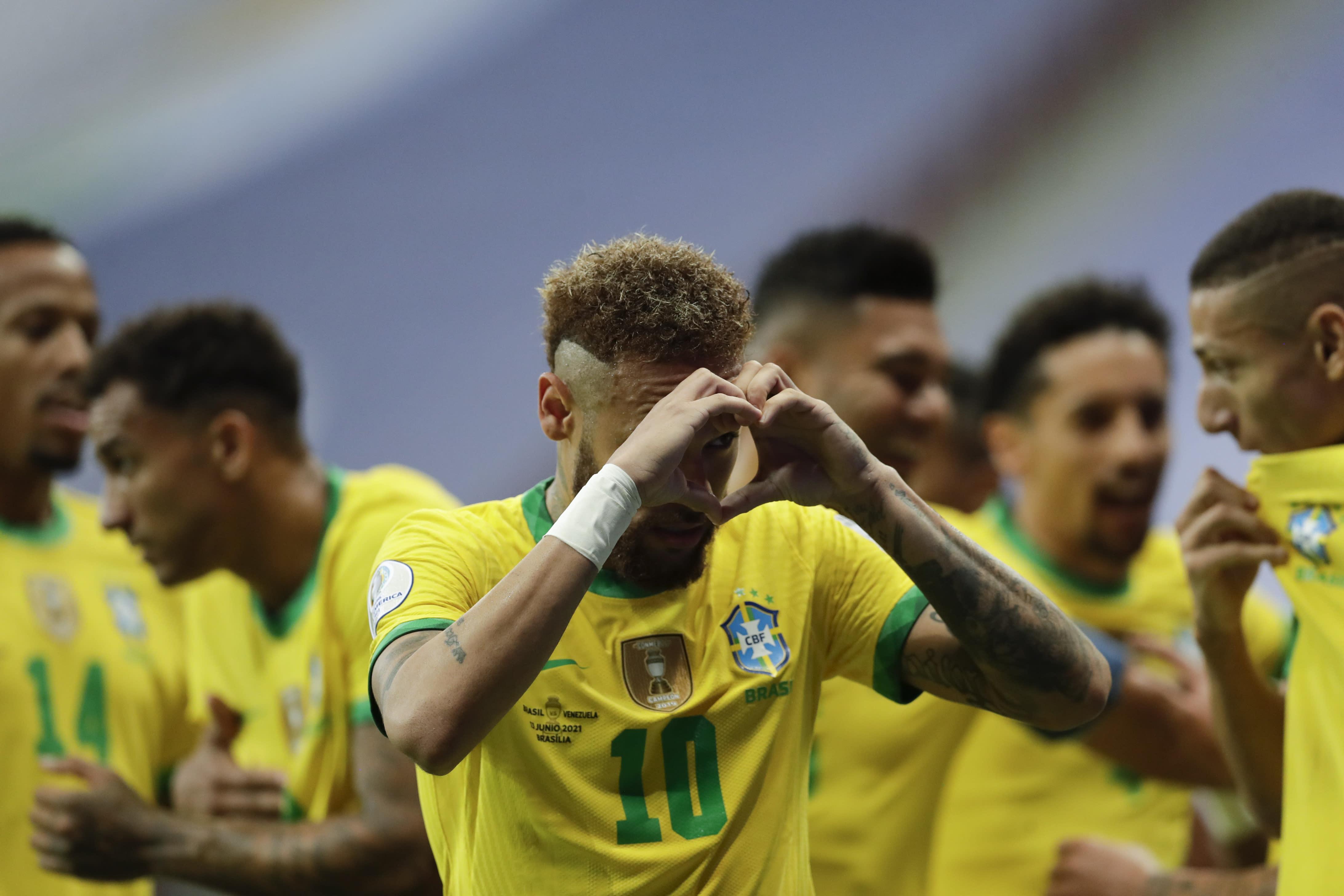 Brazil opens Copa America with 3-0 win over Venezuela