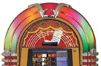 Rock-Ola updates jukeboxes, adds hard drives and iPod support