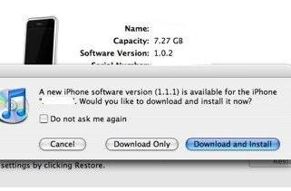 Moment of Truth: iPhone Software 1.1.1 is out