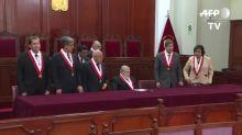 Corte peruana dirá el 29 de octubre si acepta demanda contra cierre de Congreso