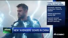 'Avengers: Endgame' China premiere brought in over $107 million in ticket sales, beating records