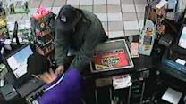 Man steals from gas station cash register