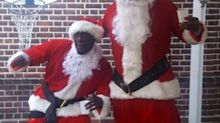 Stormzy & Idris Elba Dressed Up As Santa Is The Best Thing You'll See Today