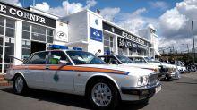 Classic Police cars descend on the Ace Café